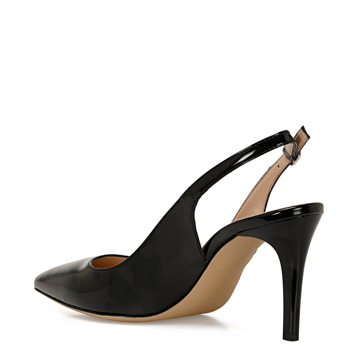 SOLARA Siyah Kadın Stiletto