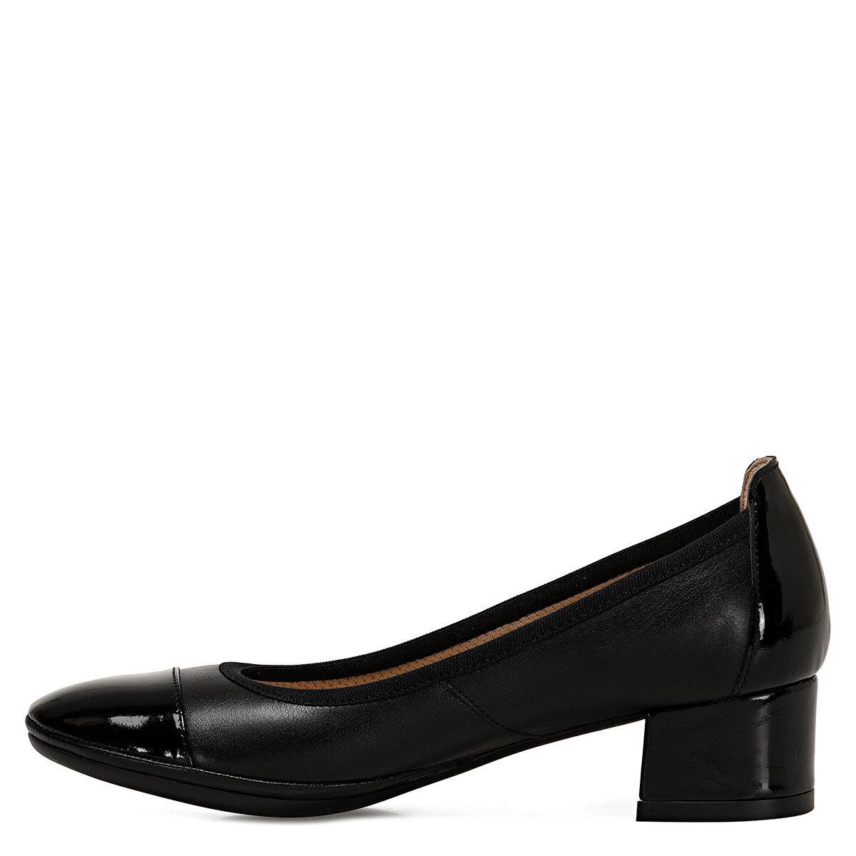 FLEXINE Siyah Kadın Topuklu Ayakkabı
