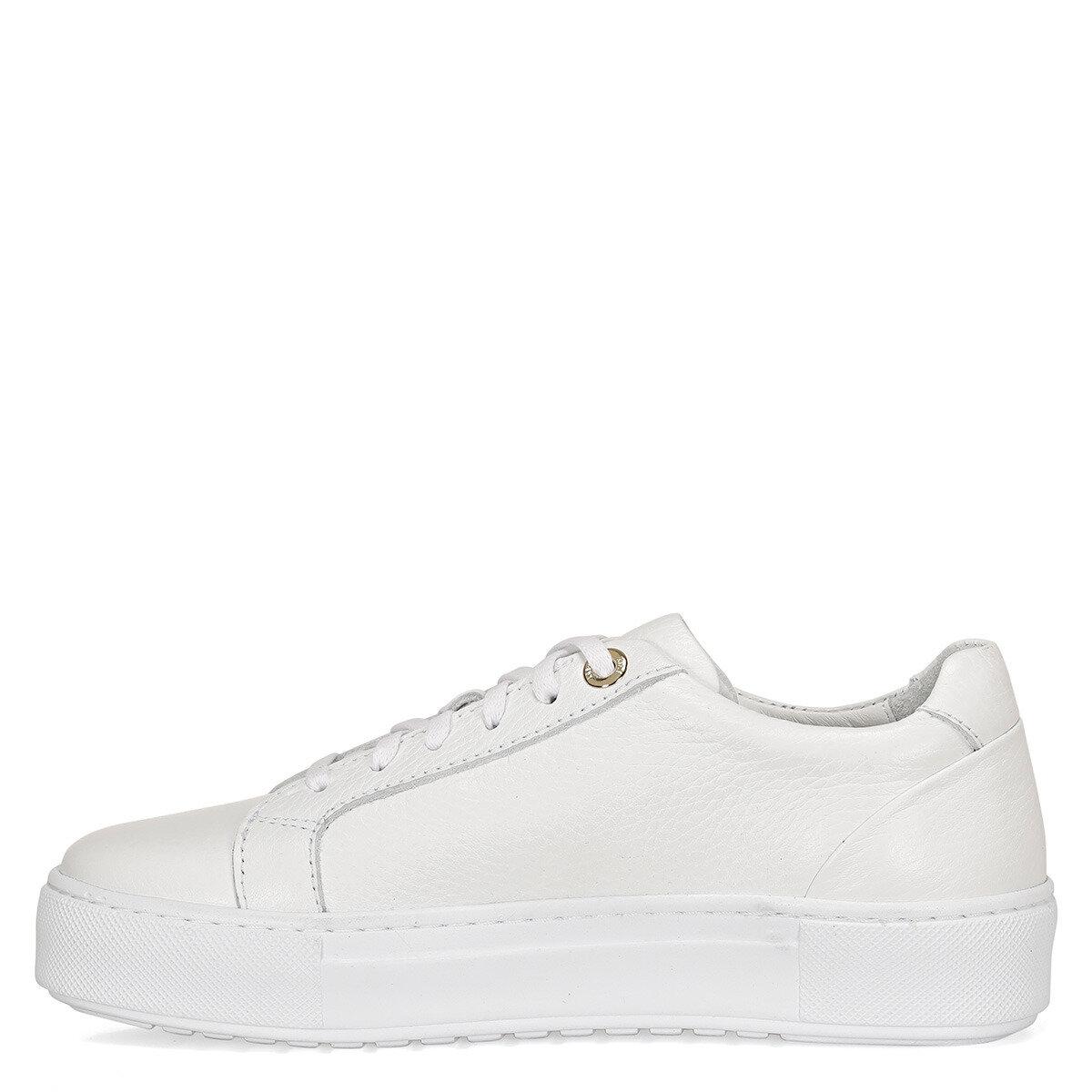 SADINFL Beyaz Kadın Sneaker Ayakkabı