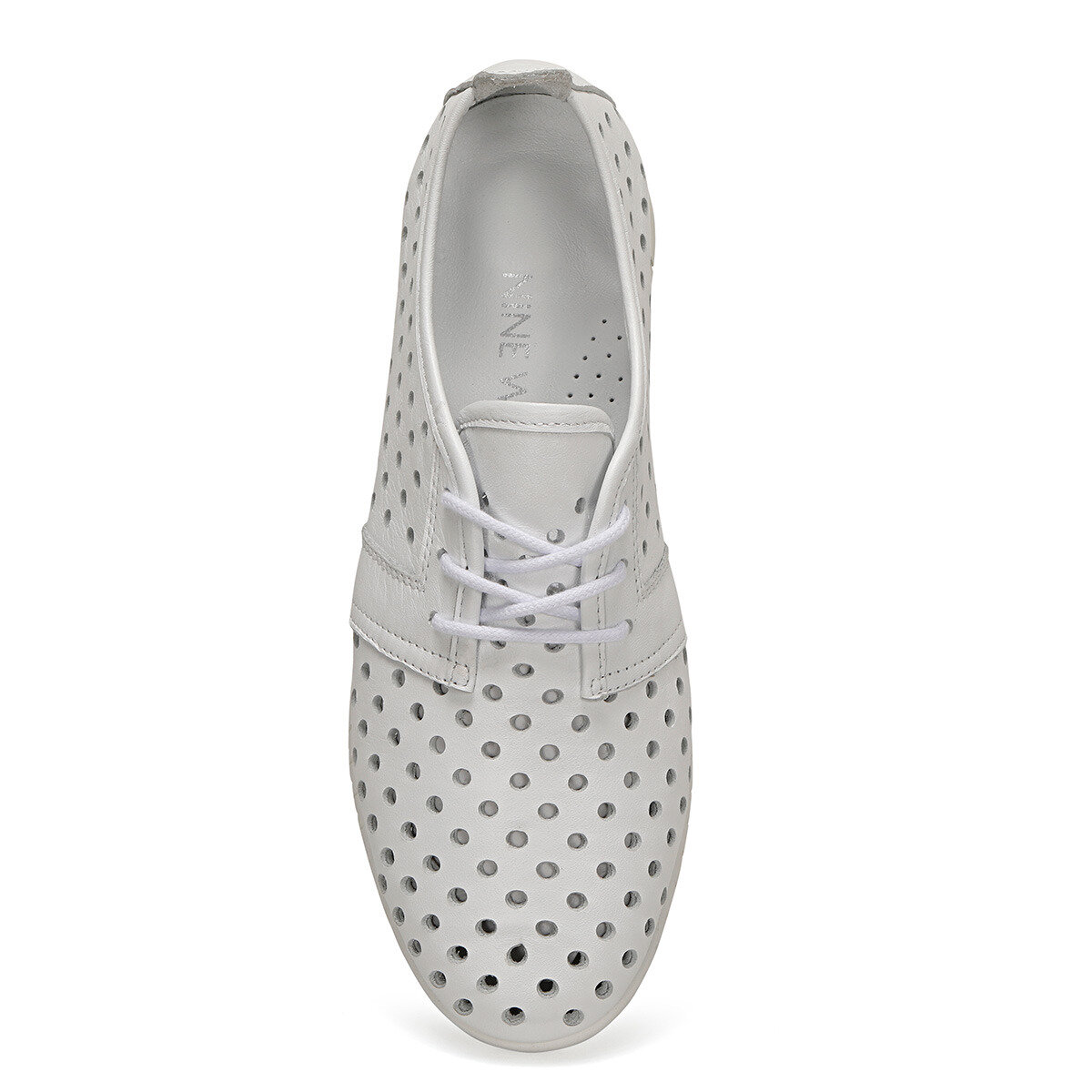 EDELINE Beyaz Kadın Maskulen Ayakkabı