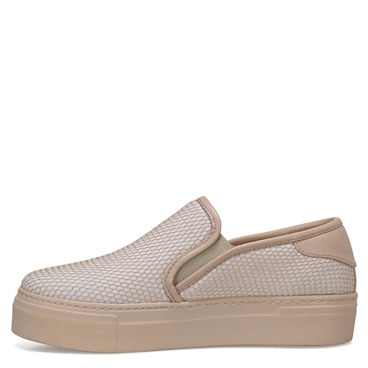 EDMANDA Bej Kadın Slip On Ayakkabı