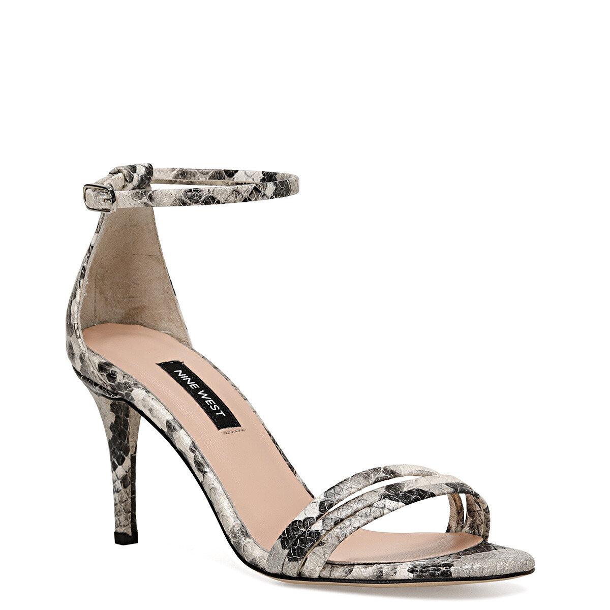 TENSE Gri Kadın Sandalet
