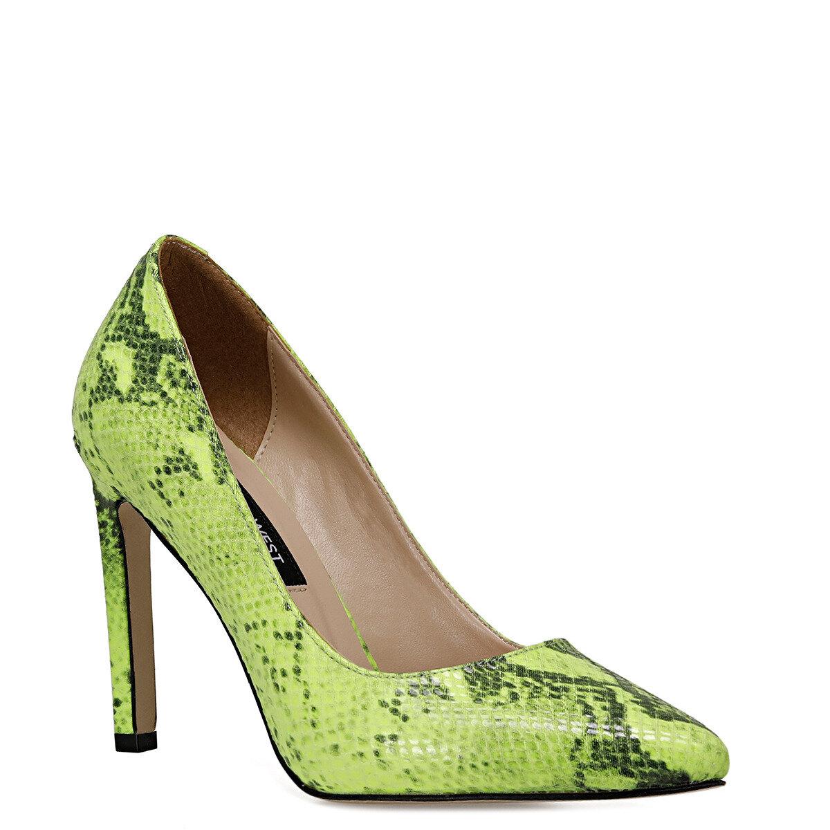 TANITA7 Neon Yeşil Kadın Stiletto