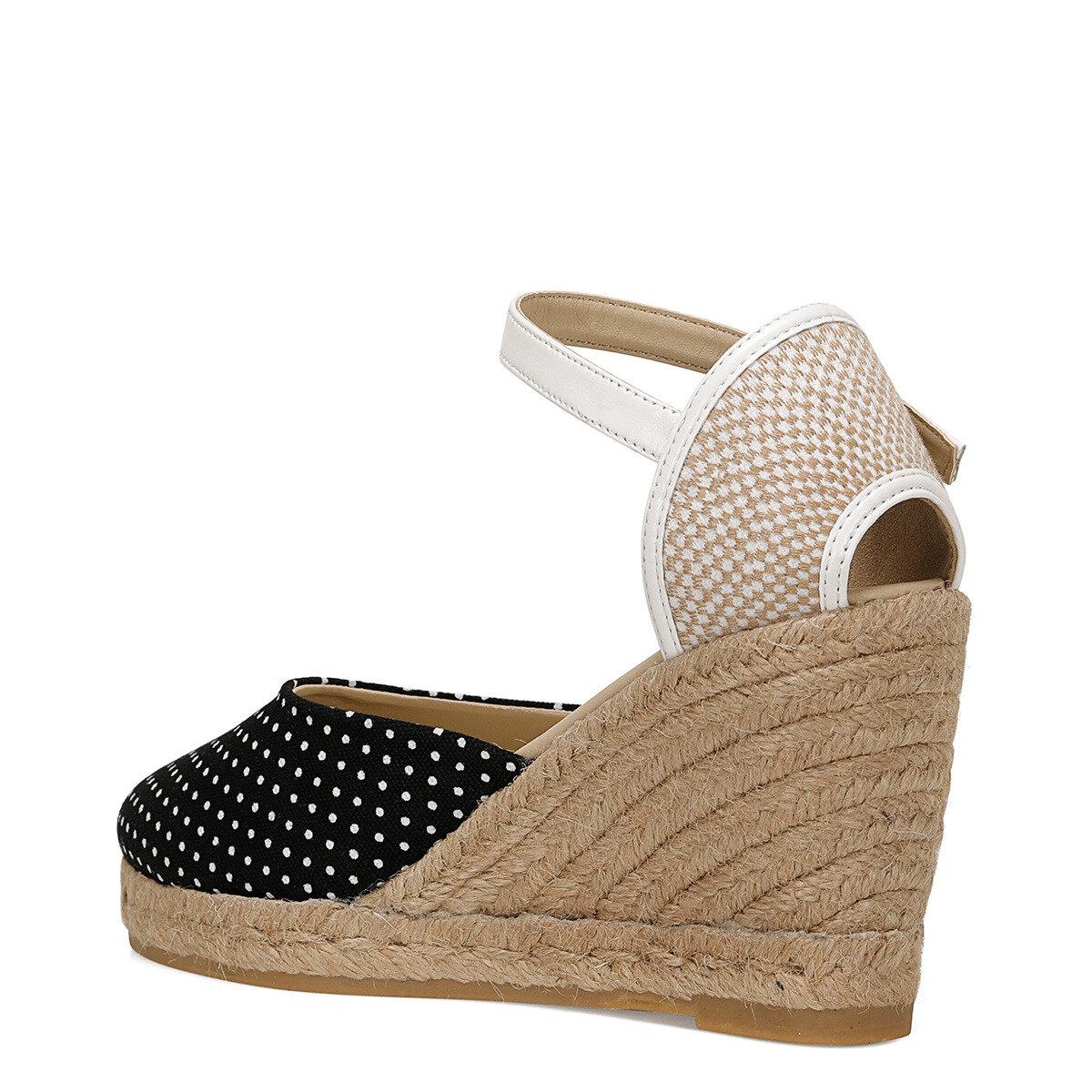 KAHLO Siyah Kadın Topuklu Ayakkabı