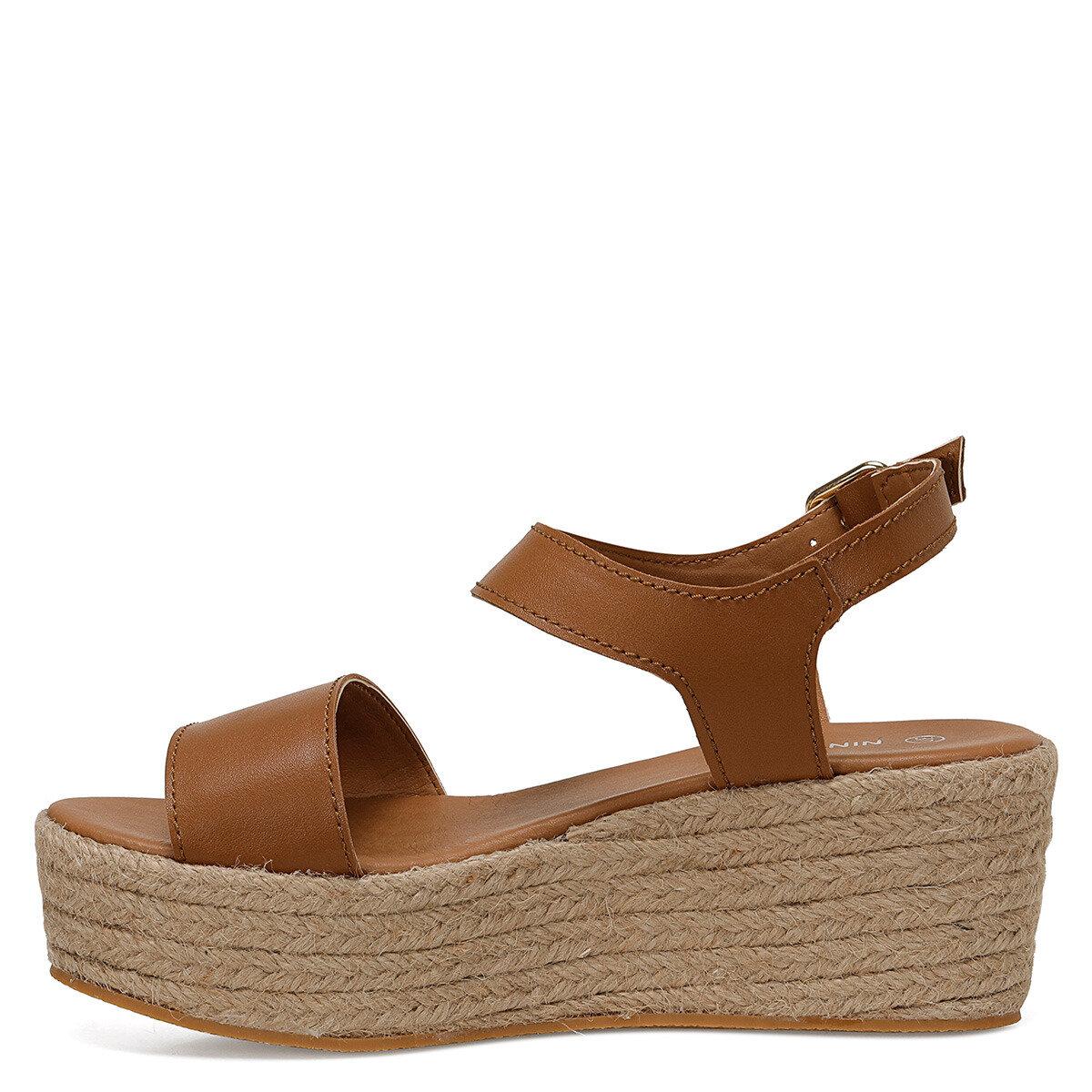VALLEY Taba Kadın Dolgu Topuklu Sandalet