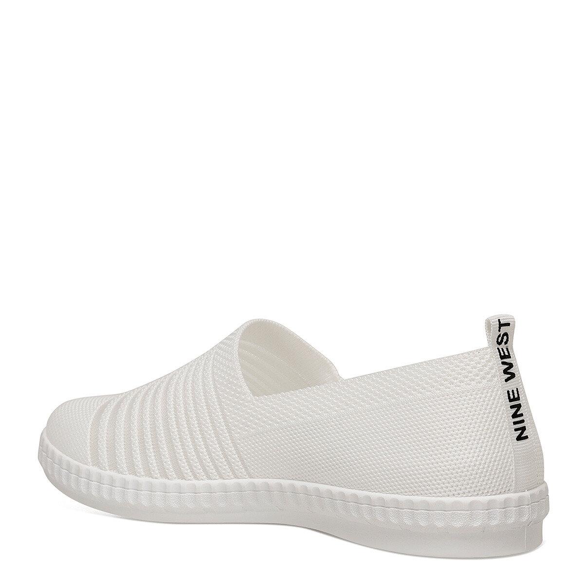 SHANA Beyaz Kadın Slip On Ayakkabı