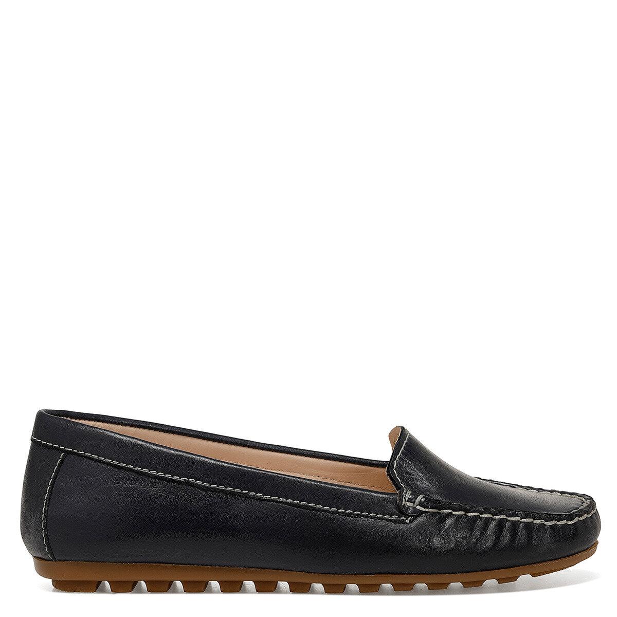 CATHI Lacivert Kadın Loafer Ayakkabı