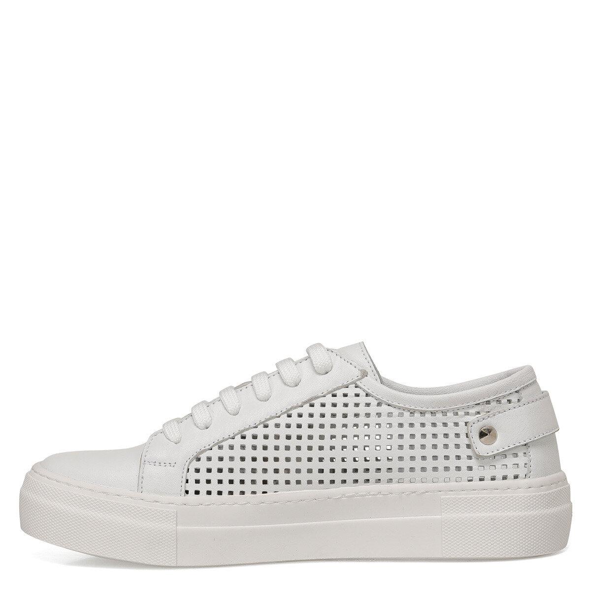 EDITH Beyaz Kadın Sneaker Ayakkabı