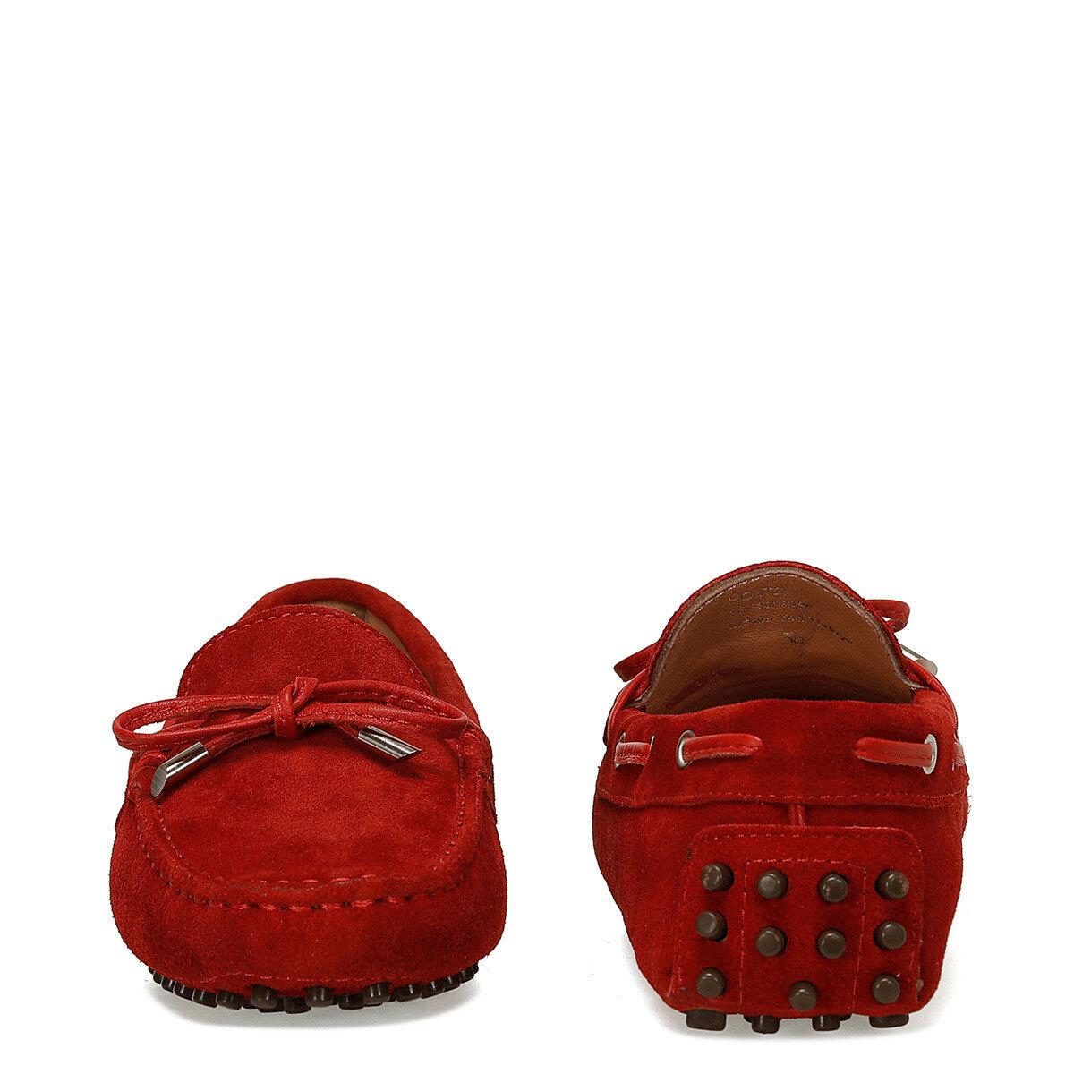 HOLT2 Kırmızı Kadın Loafer Ayakkabı