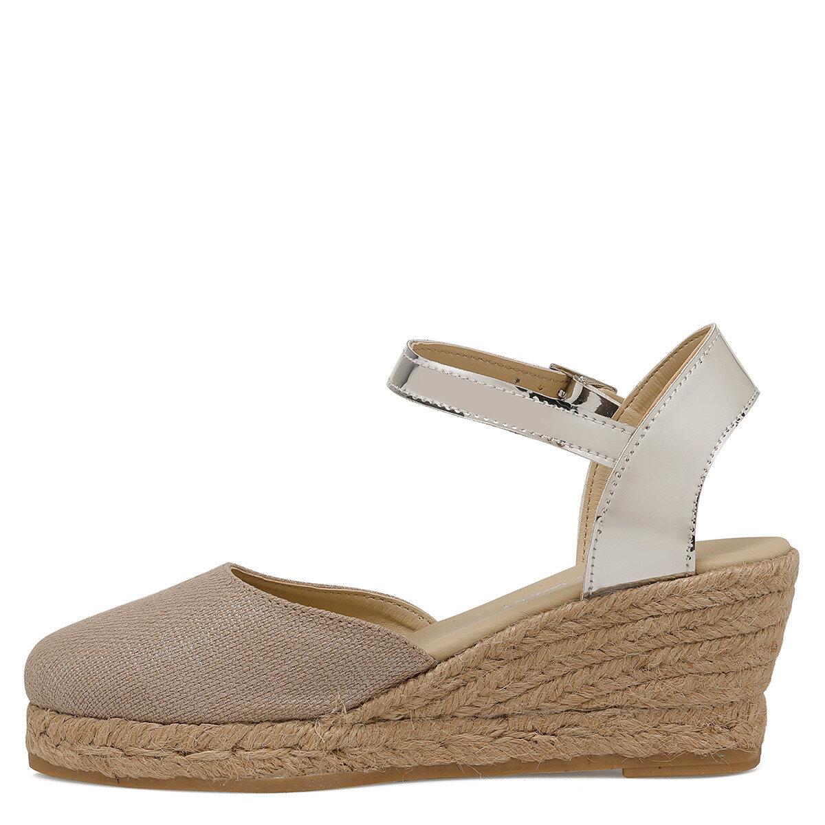 MORISOT Koyu Bej Kadın Topuklu Ayakkabı