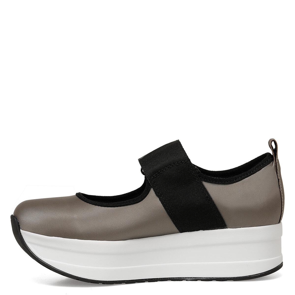WILL Gri Kadın Sneaker