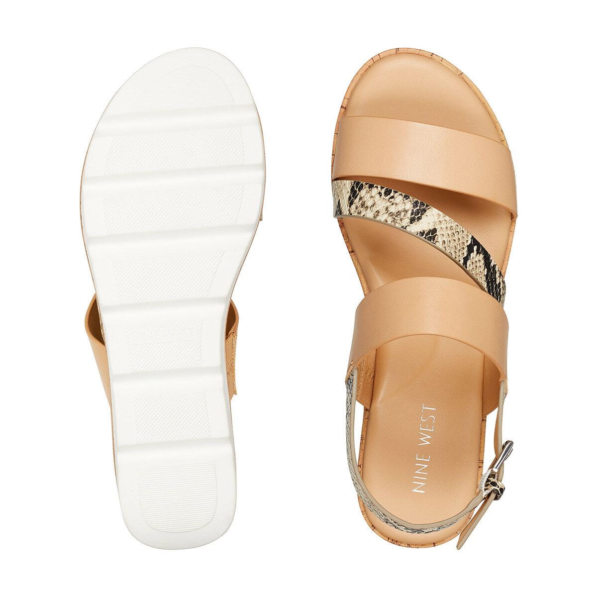 BILLIE3 Krem Kadın Düz Sandalet