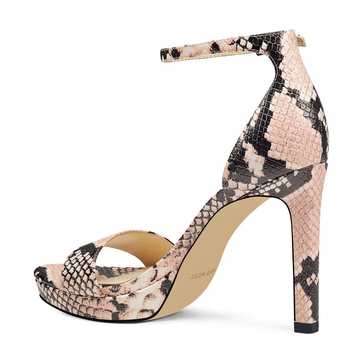 EDYN Pembe Kadın Topuklu Sandalet