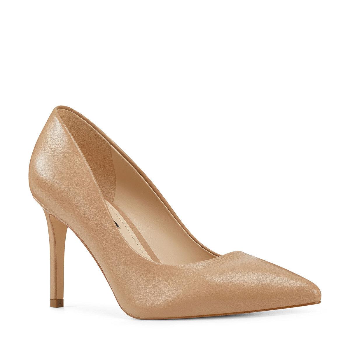 EZRA Naturel Kadın Gova Ayakkabı