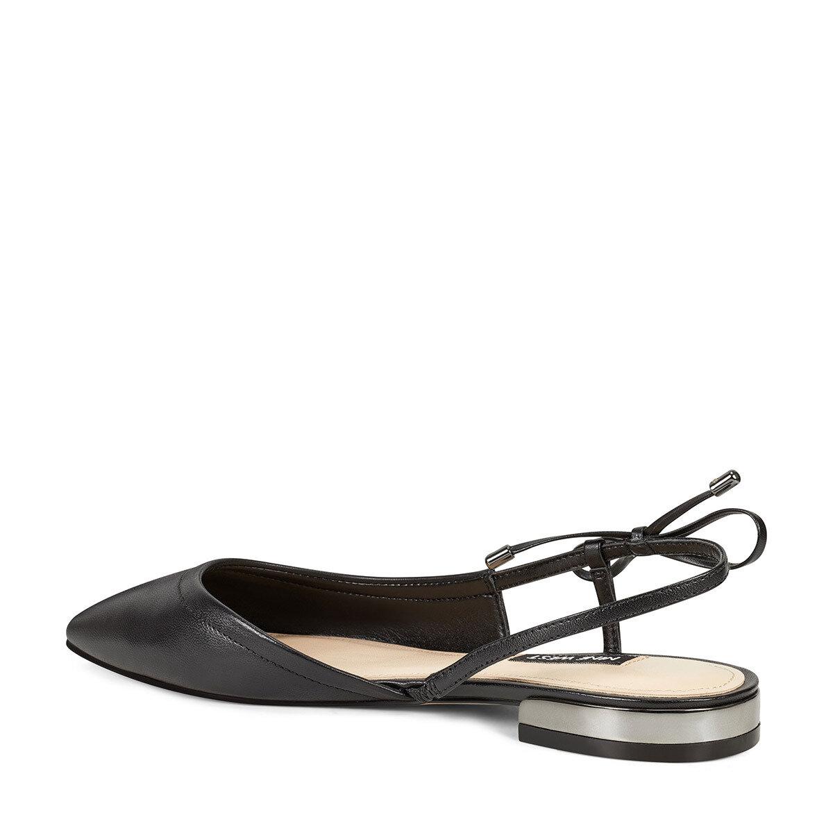 ROSA Siyah Kadın Düz Sandalet