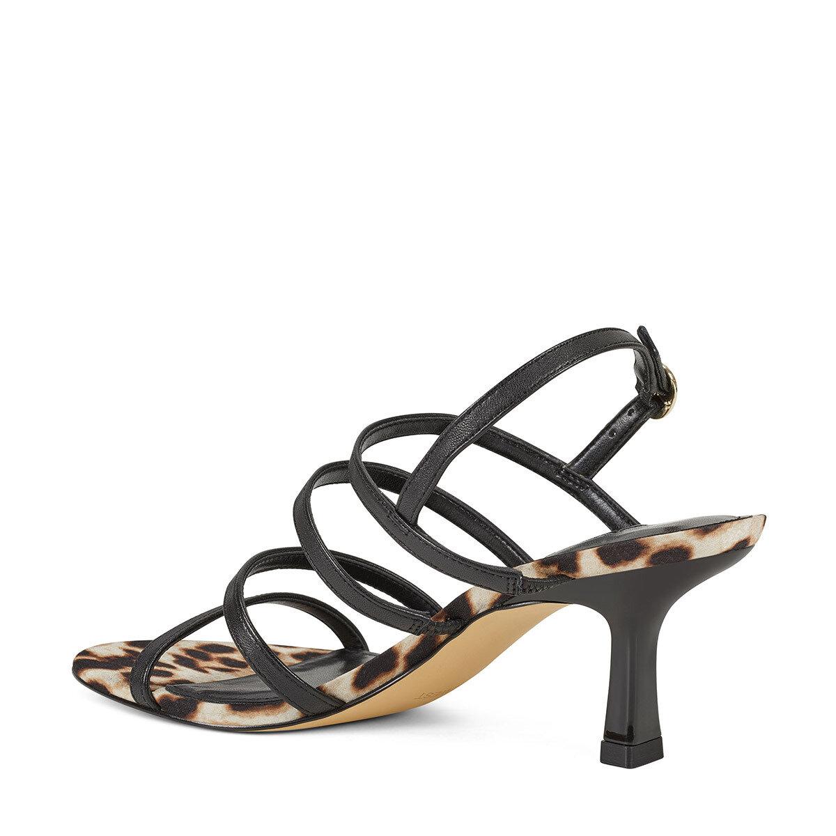 SMOOTH Siyah Kadın Topuklu Sandalet