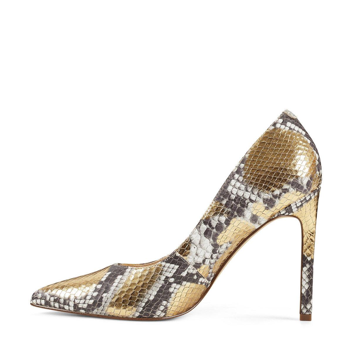 TATIANA Altın Kadın Gova Ayakkabı