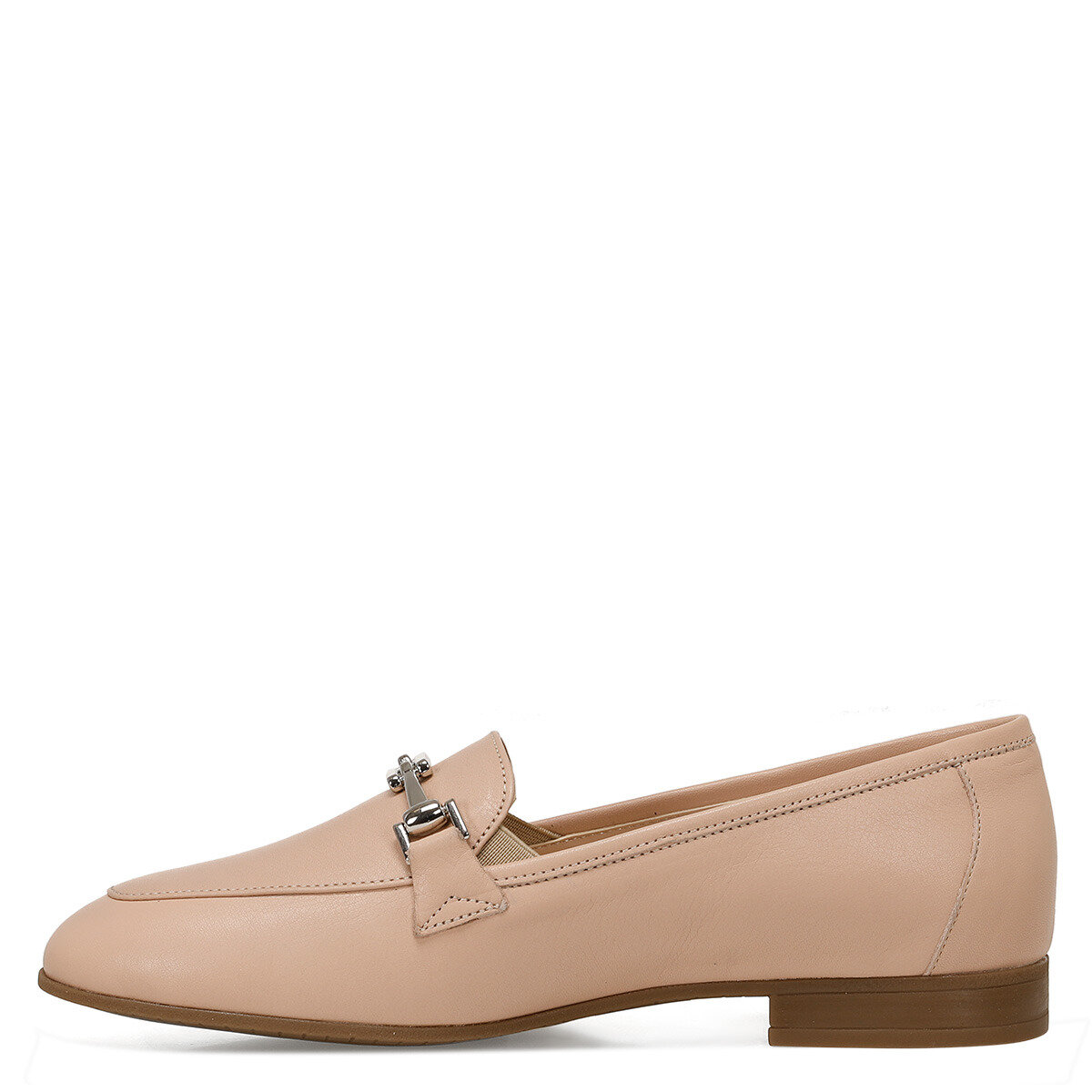 YEMA Naturel Kadın Loafer Ayakkabı