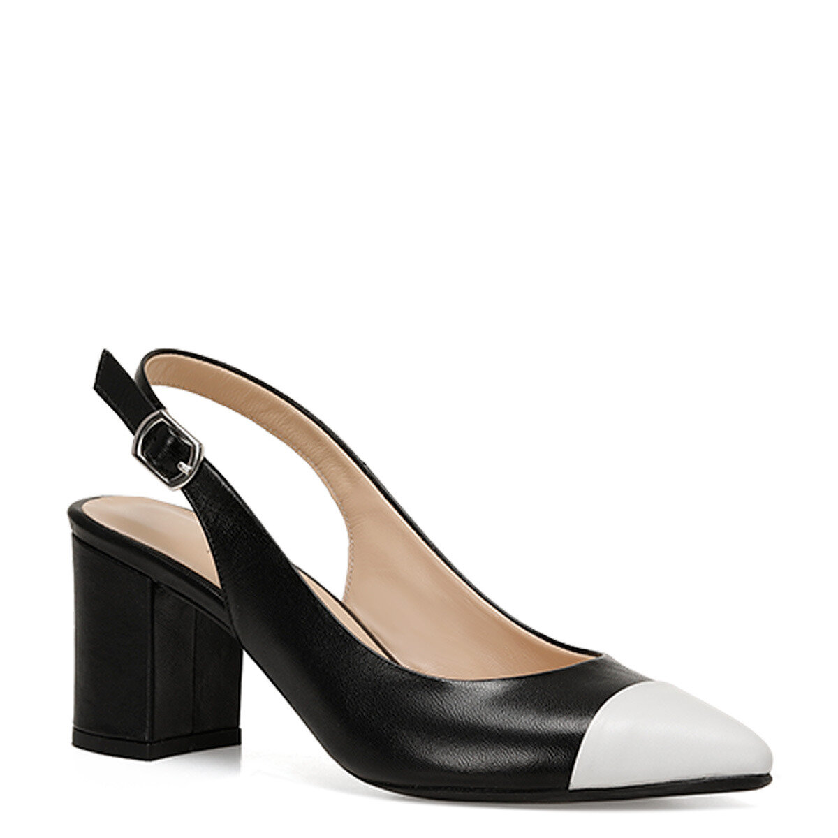LISA Siyah Kadın Topuklu Ayakkabı