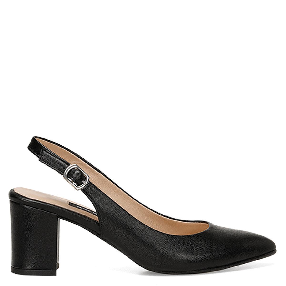 LISET Siyah Kadın Topuklu Ayakkabı
