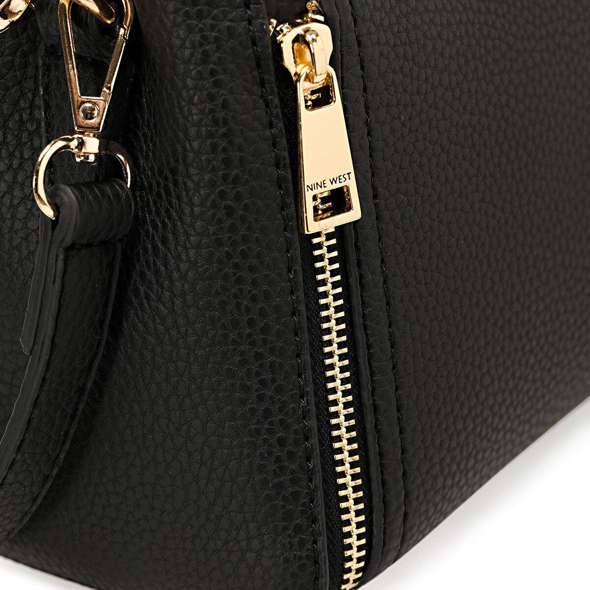 ZIPPO Siyah Kadın Çapraz Çanta