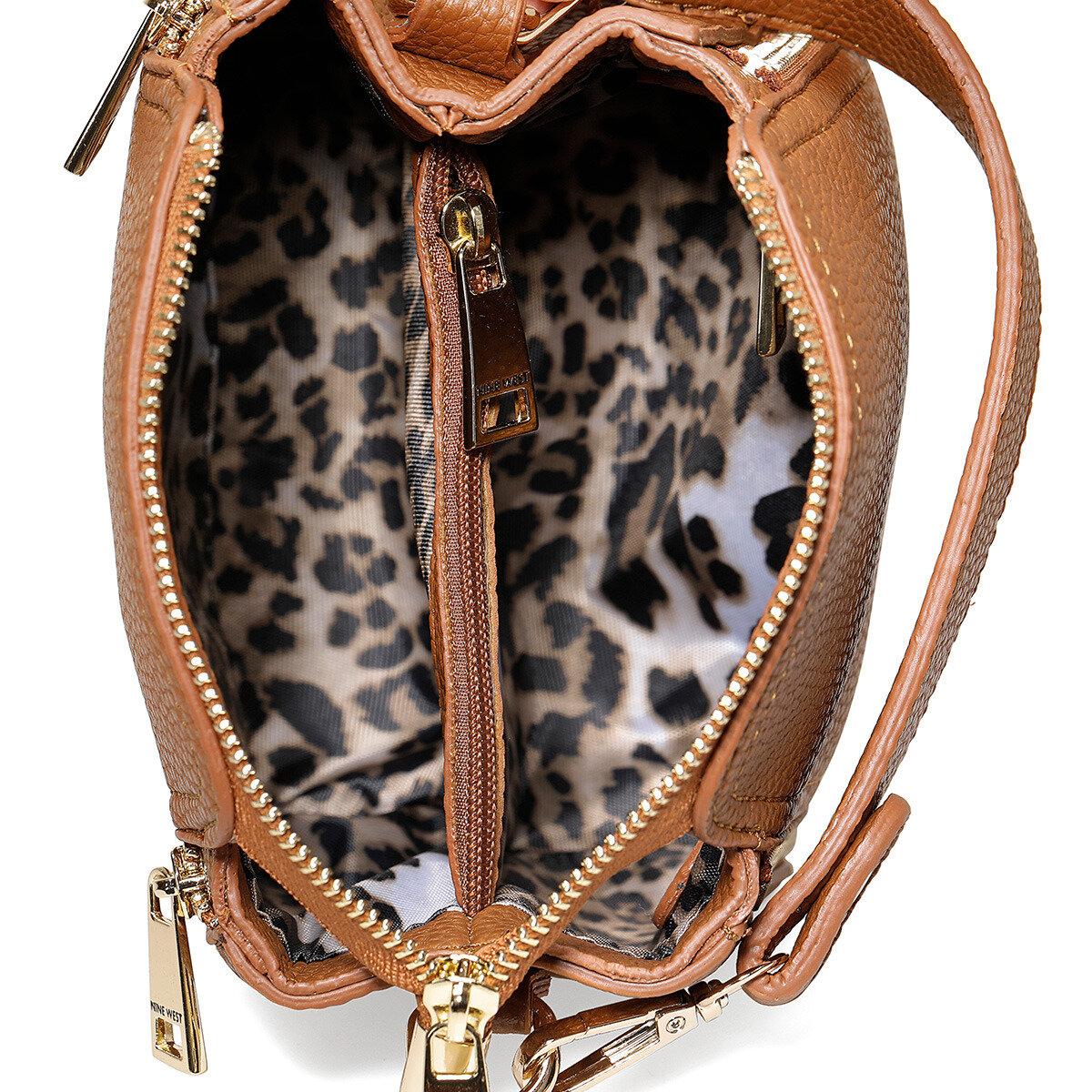 ZIPPO Naturel Kadın Çapraz Çanta