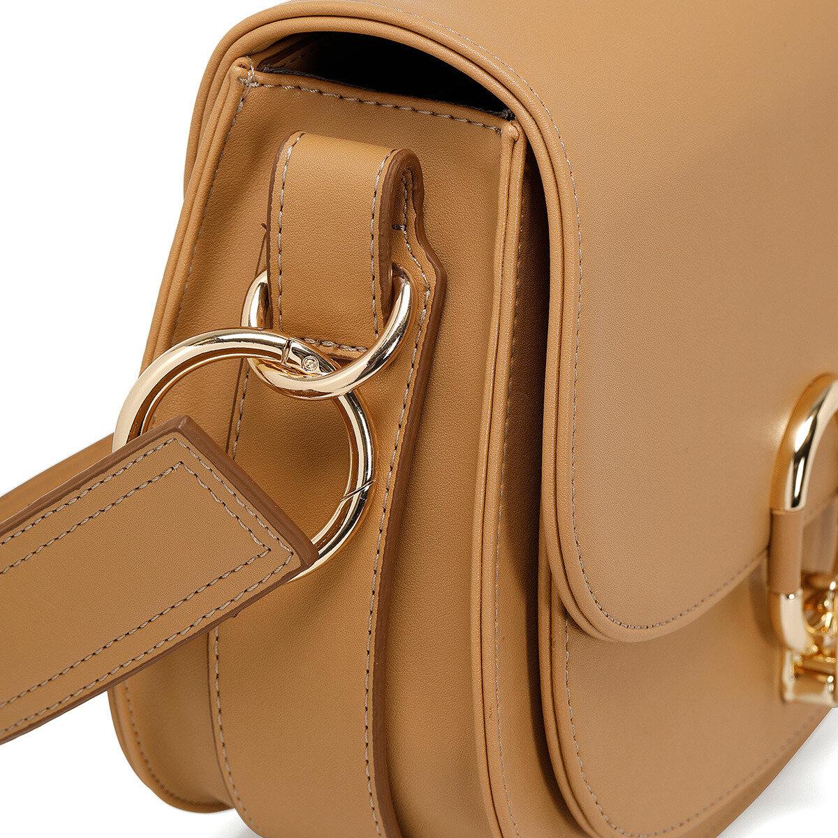 NOVA Camel Kadın Çapraz Çanta