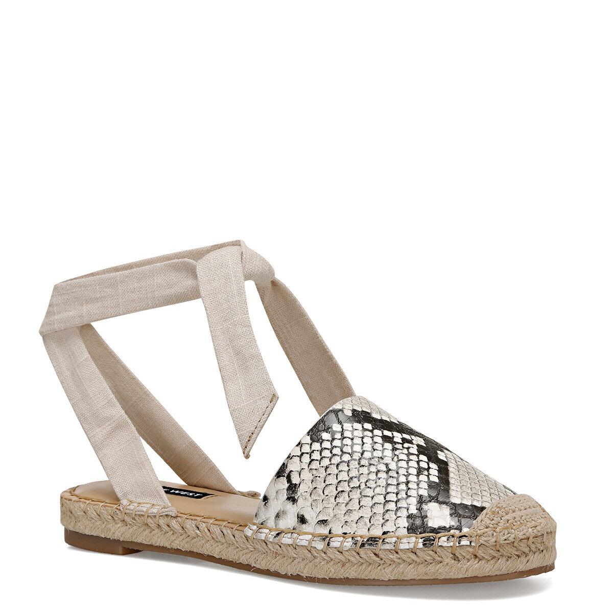 MORE2-A Gri Kadın Espadril Ayakkabı