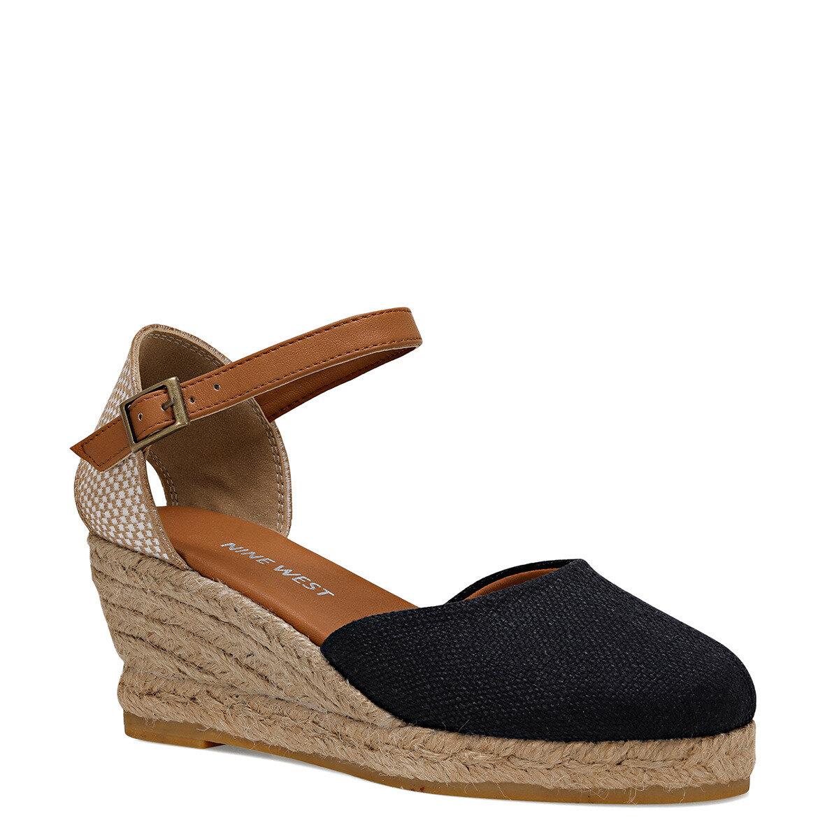 ELISABETTA Lacivert Kadın Dolgu Topuklu Sandalet