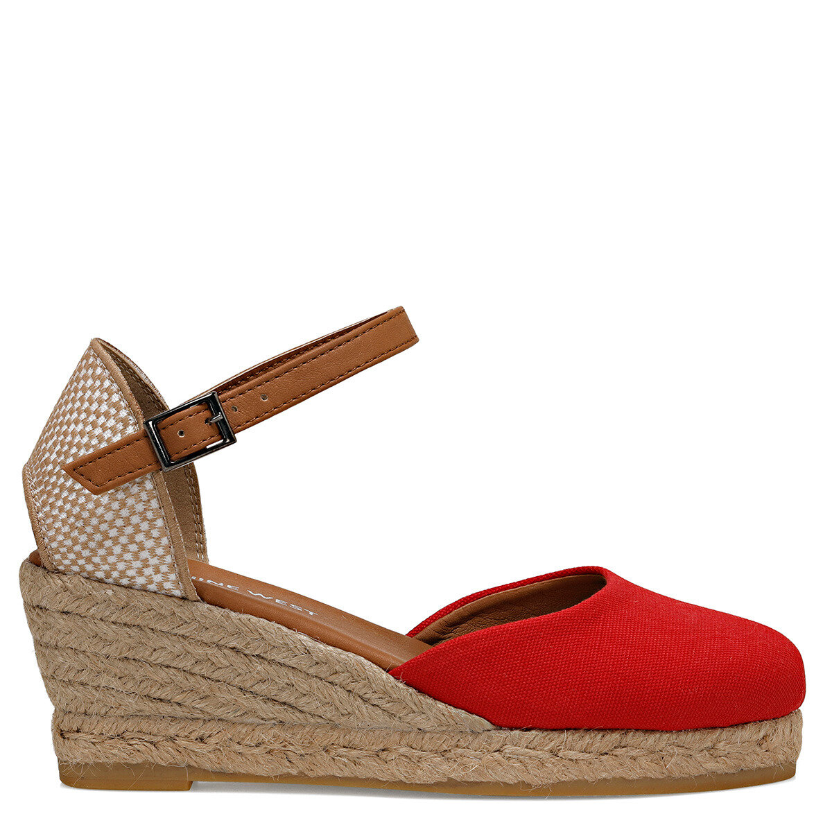 ELISABETTA Kırmızı Kadın Dolgu Topuklu Sandalet