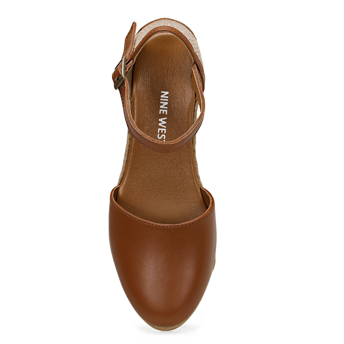 FRIDA Taba Kadın Dolgu Topuklu Sandalet