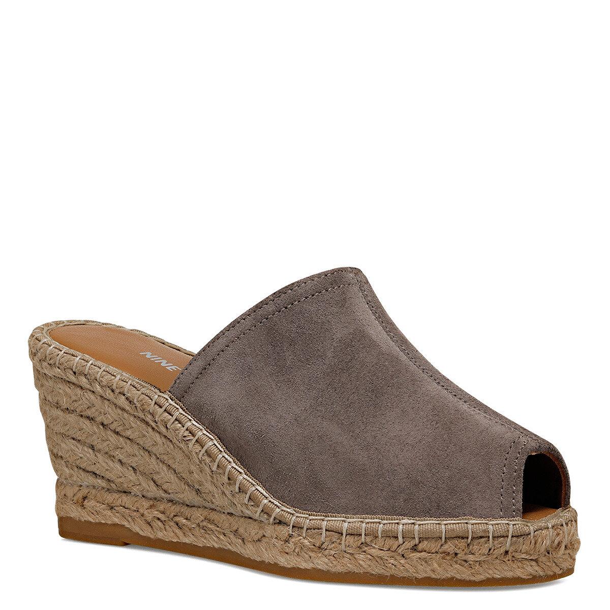 KAUFFMAN2 Vizon Kadın Dolgu Topuklu Sandalet