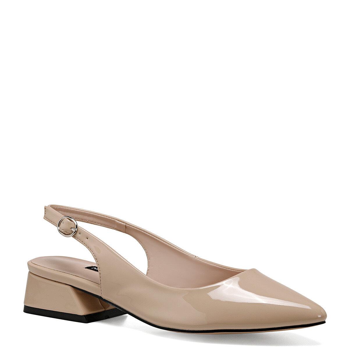 TORA Naturel Kadın Kısa Topuklu Ayakkabı