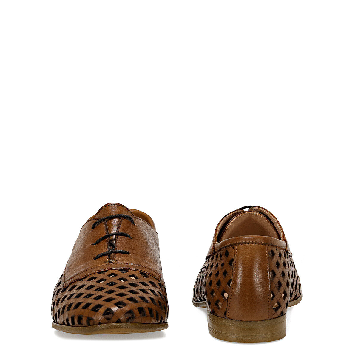 ELORA Taba Kadın Oxford Ayakkabı