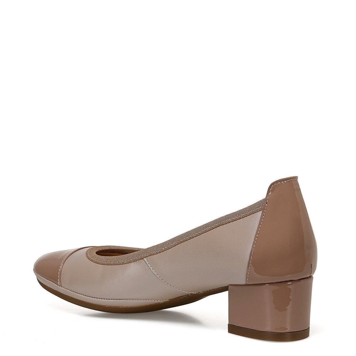 FLEXINE Pudra Kadın Topuklu Ayakkabı
