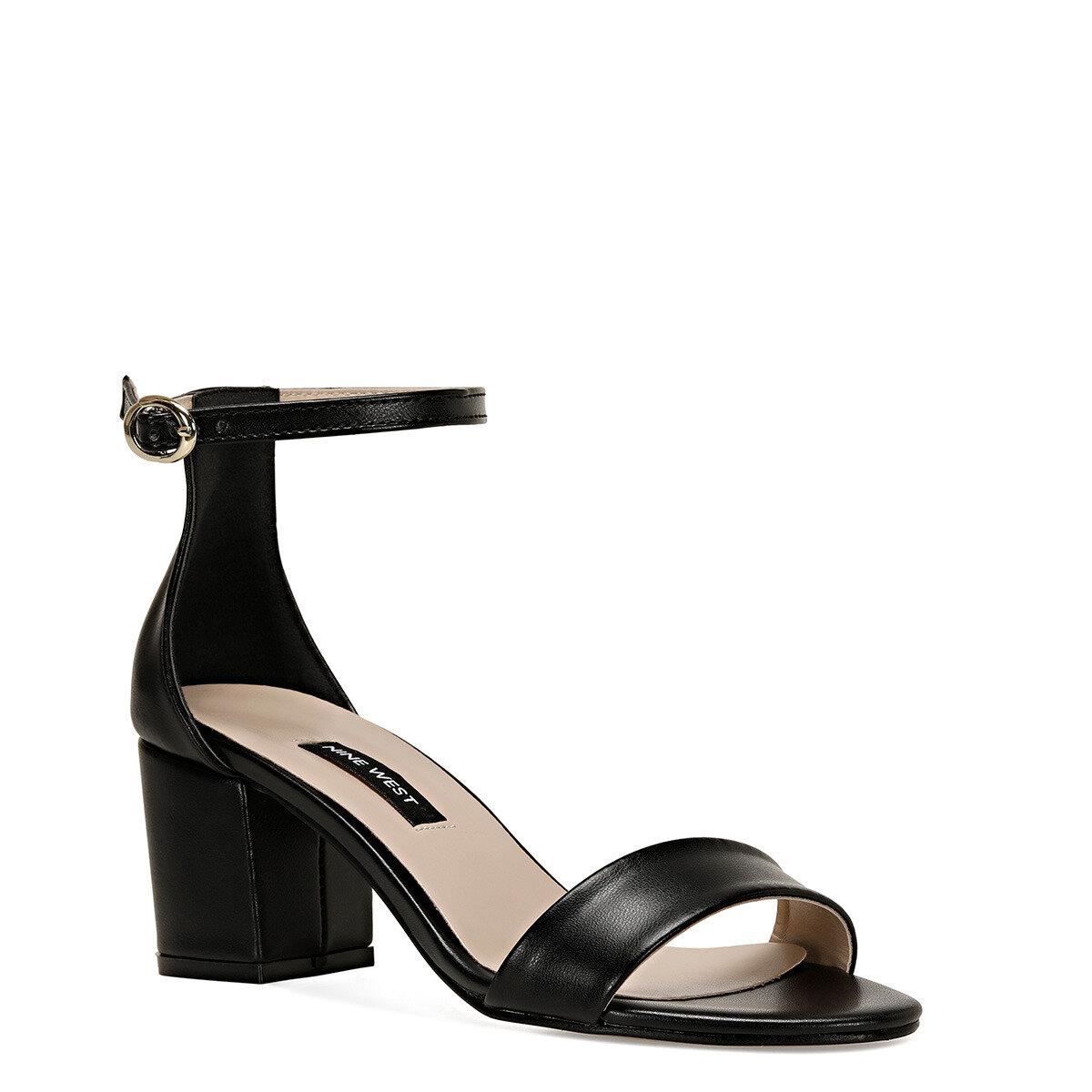 BADALIA-D Siyah Kadın Sandalet