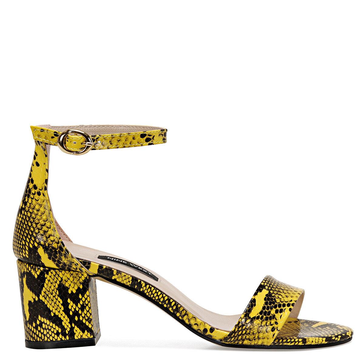 BADALIA-SN Sarı Kadın Sandalet