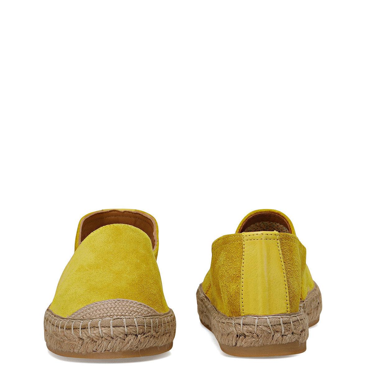 CASSATT Sarı Kadın Espadril Ayakkabı