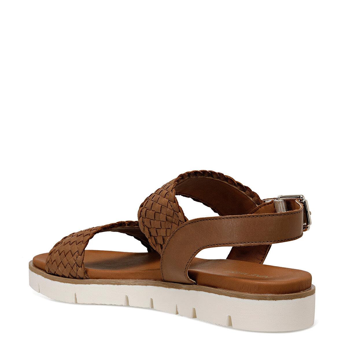 GOGH Taba Kadın Düz Sandalet