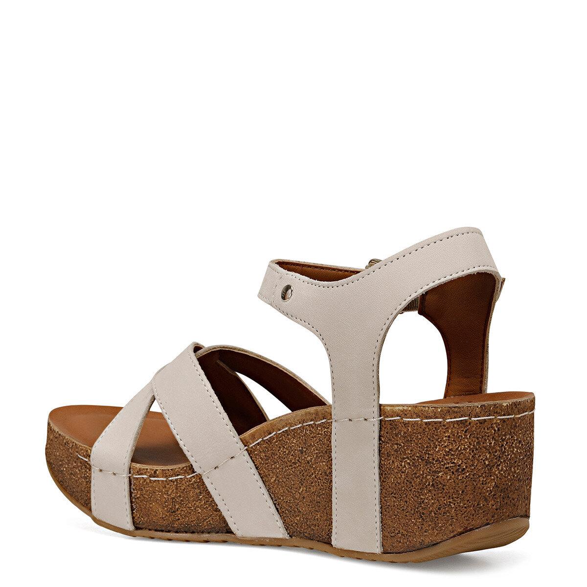 GOYARD KIRIKBEYAZ Kadın Dolgu Topuklu Sandalet