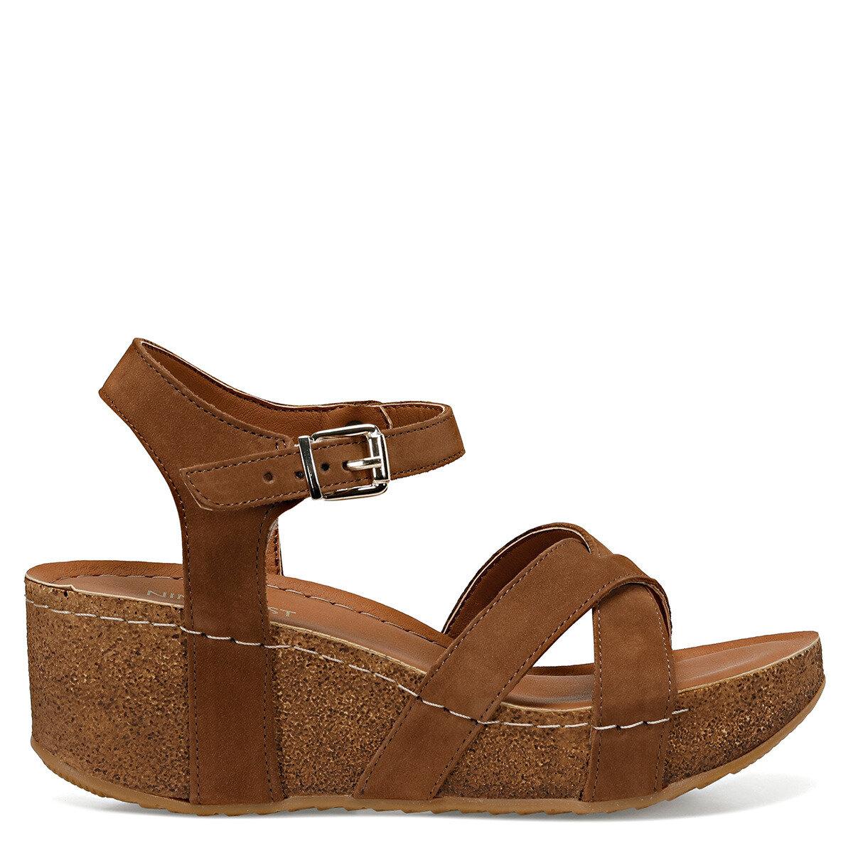 GOYARD Taba Kadın Dolgu Topuklu Sandalet