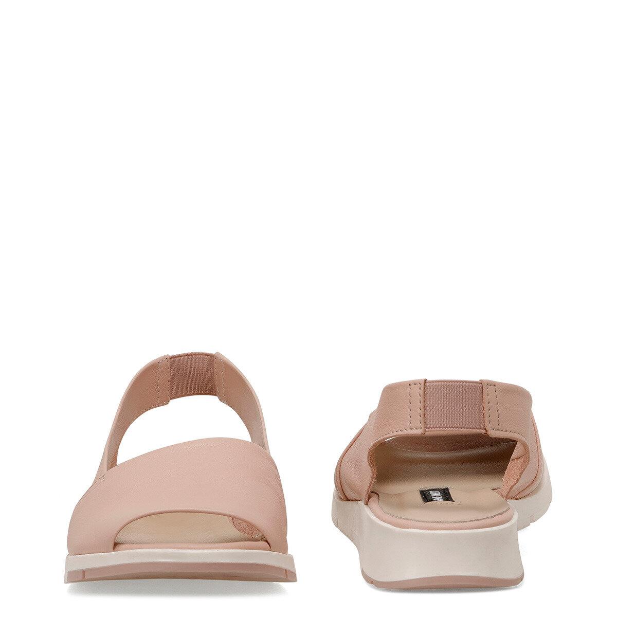 GYTHA Pudra Kadın Düz Sandalet