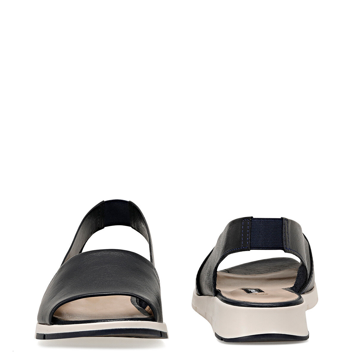 GYTHA Lacivert Kadın Düz Sandalet