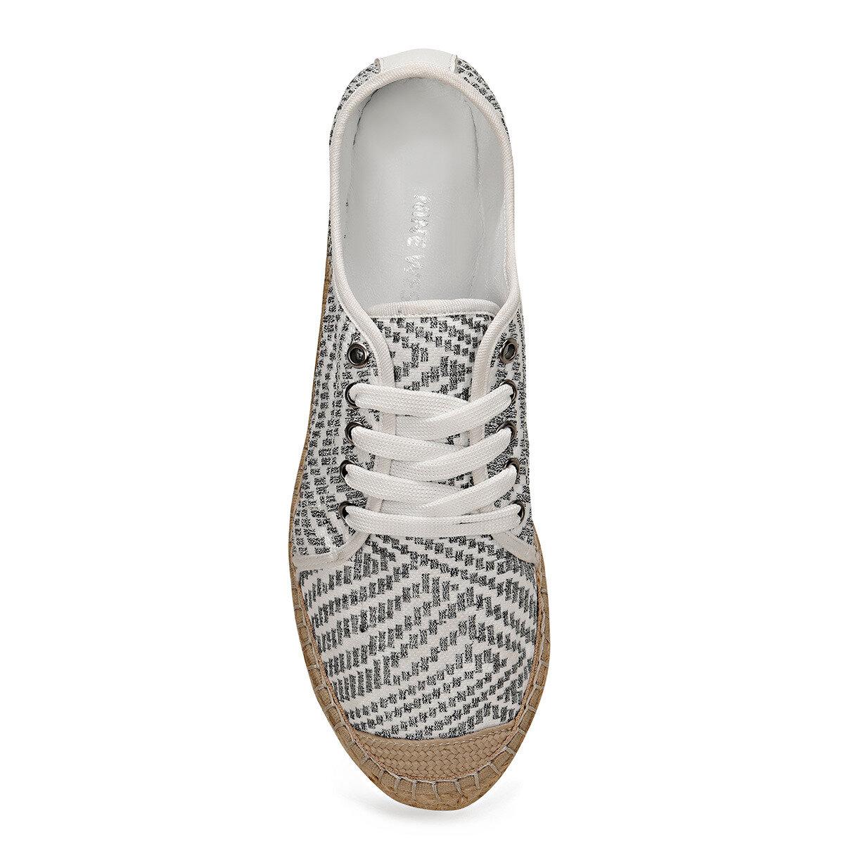 LONGHI2 Gri Kadın Espadril Ayakkabı