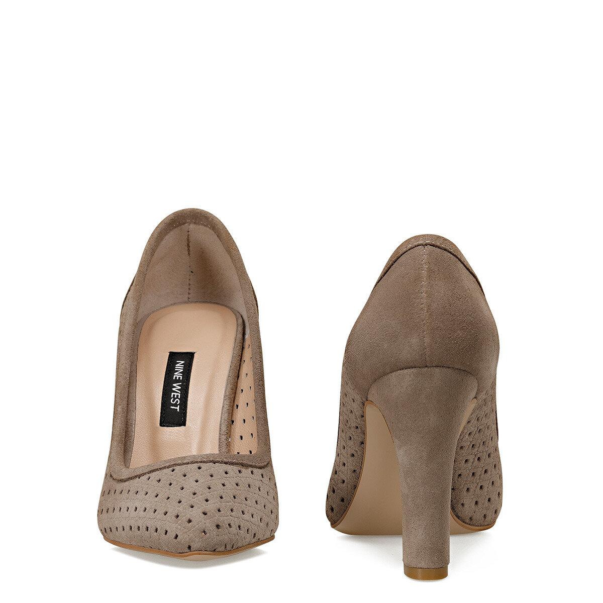 HOLDEN Vizon Kadın Topuklu Ayakkabı