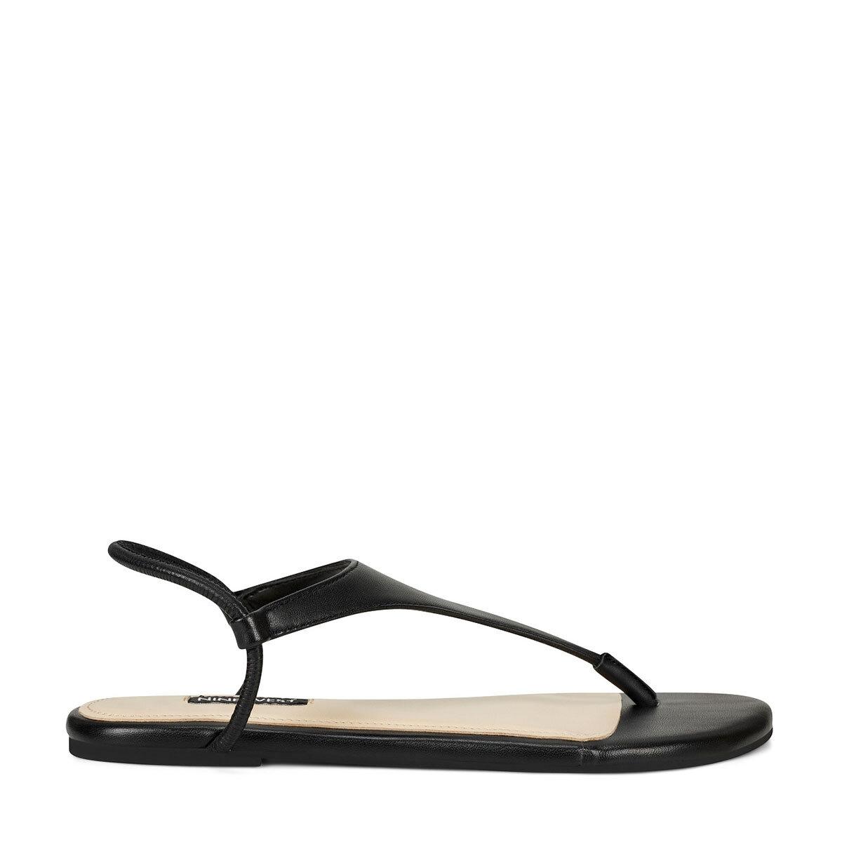 BRAYDIN Siyah Kadın Düz Sandalet