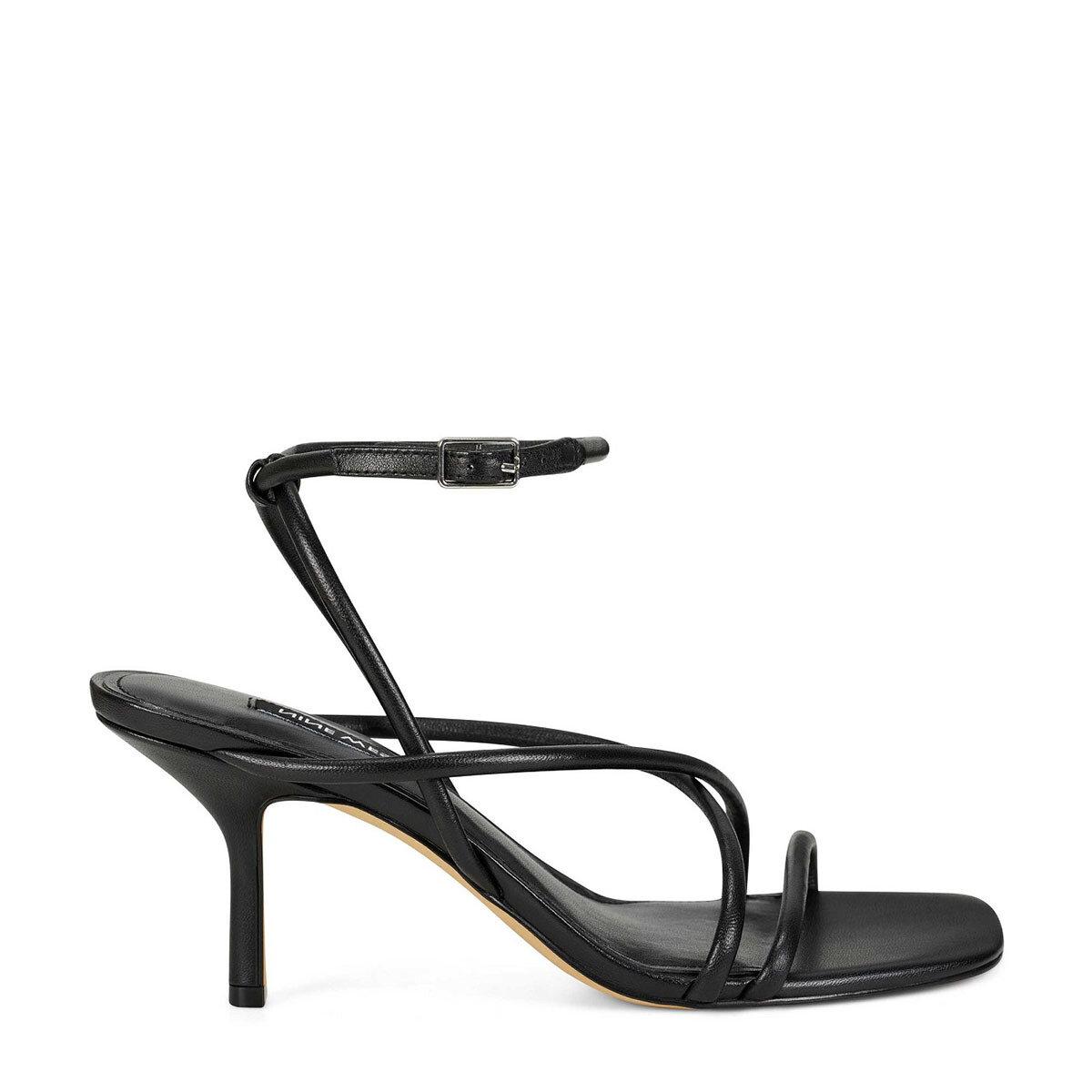 NOLAN3 Siyah Kadın Topuklu Ayakkabı