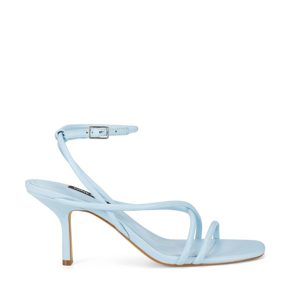 NOLAN3 Mavi Kadın Topuklu Sandalet