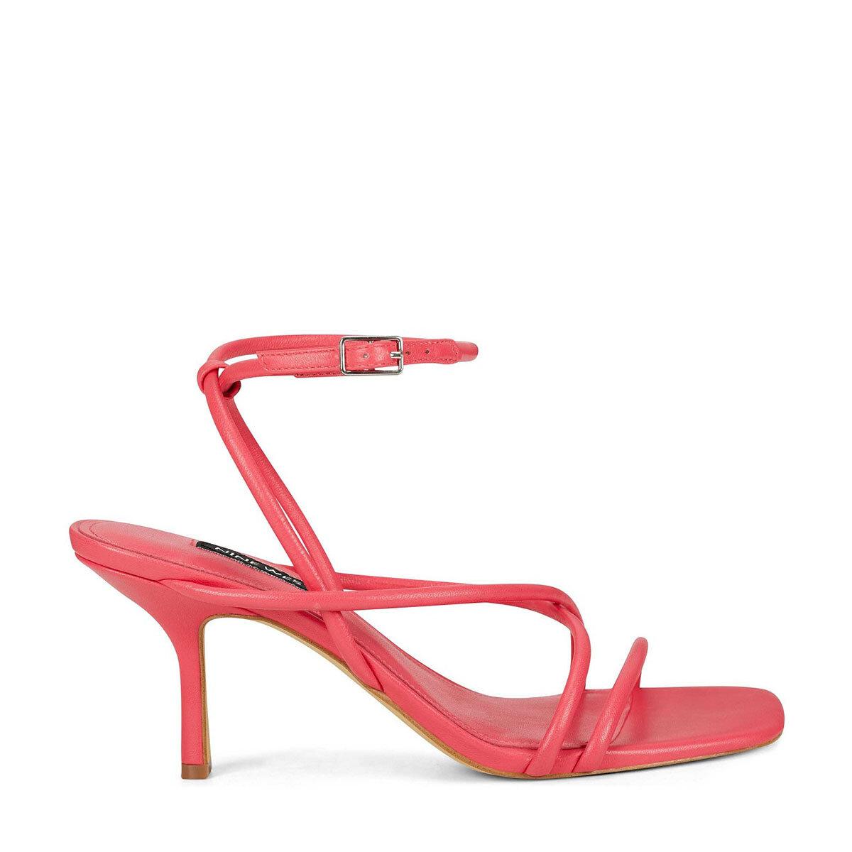 NOLAN3 Pembe Kadın Topuklu Sandalet