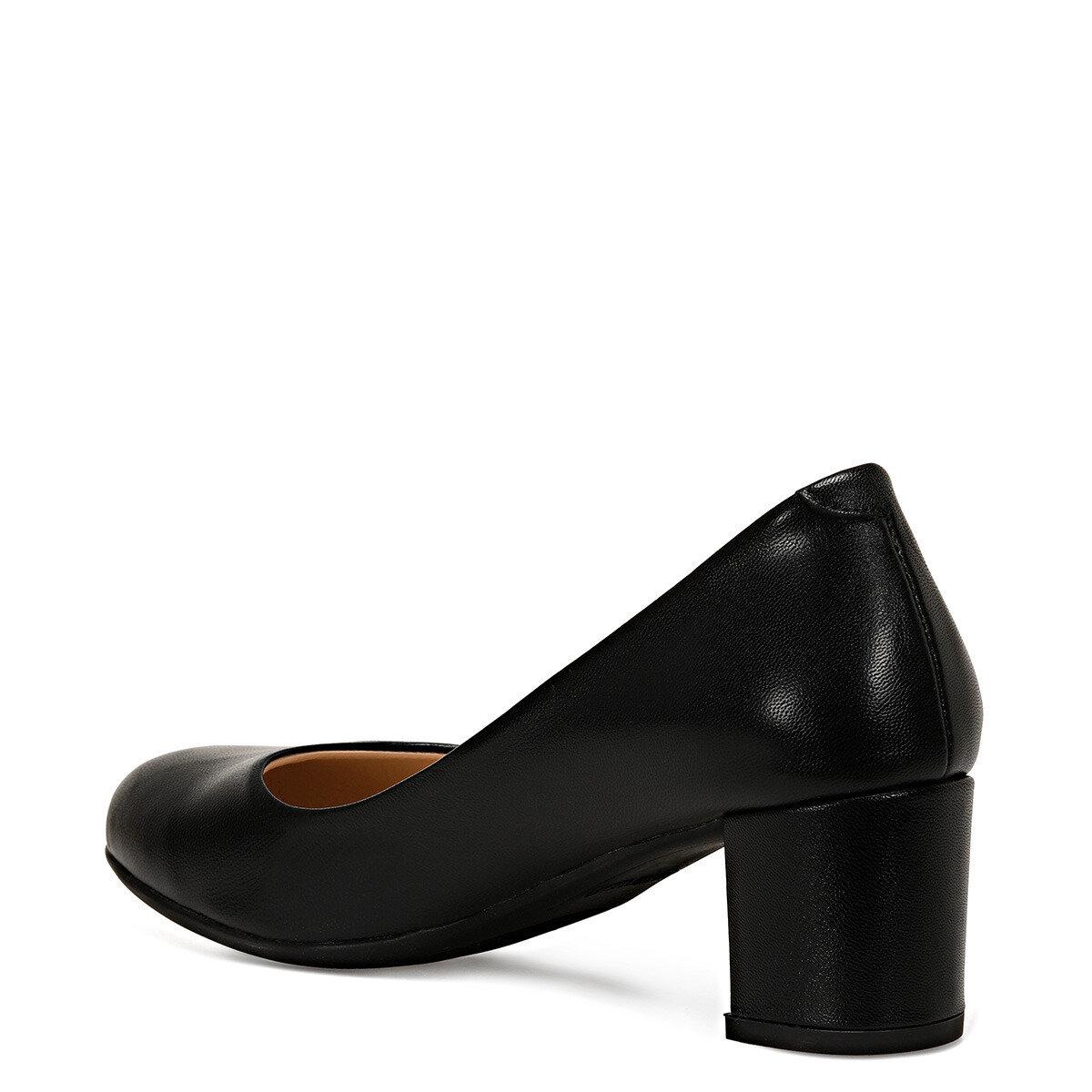 LELAN Siyah Kadın Topuklu Ayakkabı